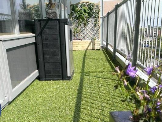 Vloer Voor Balkon : Kunstgras op balkon in naaldwijk