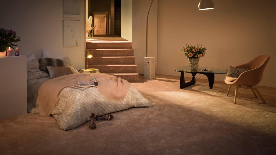 Slaapkamer Met Tapijt : Sensualité tapijt voor de slaapkamer