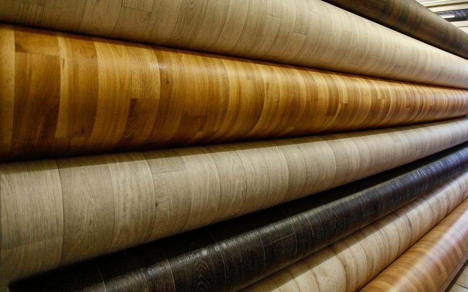 Vinyl parket aanbieding u ac per strekkende meter